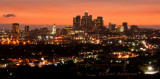 Los Angeles Skyline at Sunset 0730