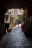 Cobblelstone Street, Orvieto