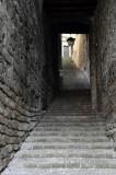 Old Brick Passage Way in Spoleto