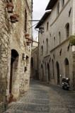 Street Scene in Assisi