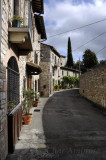 Winding Street in Assisi