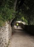 Path to Eremo delle Carceri