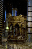 Pisano Pulpit in the Siena Duomo