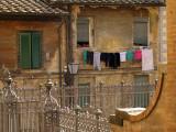Laundry Day in Siena