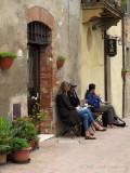 Coffee Break on the Via dell Amore, Pienza