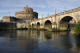 Castel Sant' Angelo View from the River