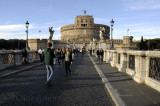 Castel Sant' Angelo View from the Bridge