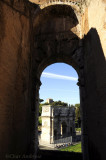 View of Arch of Constantine from the Colosseum