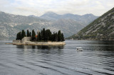 Benedictine Monastery on St George's Island in the Bay of Kotor
