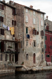 Old Buildings by the Water in Rovinj