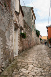 On the Road Up to the Church in Rovinj