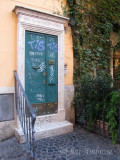 Graffiti Door in Rome