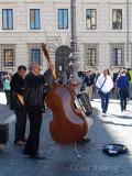 Street Musians in Piazza Navona