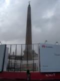 Flaminio Obelisk in Piazza de Popolo - CLOSED