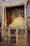 Remnants of a Fresco in Tempio d'Romolo