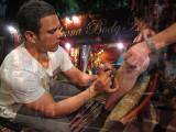 Henna Tattoo Artist at Work