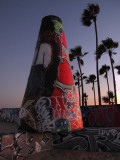 Part of the Venice Beach Art Wall Project