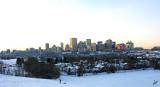 2012_11_27 Edmonton City Skyline - day and night