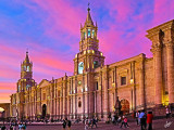 IMG_6976 Plaza de Armas at sunset. HDR image