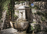 Fountain and Cobbles