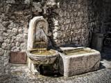 Fountain at Paul de Vence