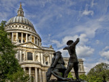 The Blitz Memorial - St Paul's Cathedral