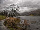 Rain clouds over Rydal Water