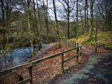 Path over River Rothay, Rydal