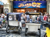 Taxis waiting, London Palladium
