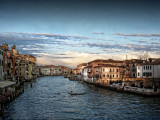 Sunset over Grand Canal