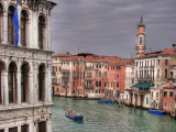 Grand Canal and boat
