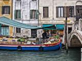 Market boat at Ponte Dei Pugni