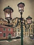 Three Pink Lamps