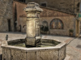 Fountain at Grimaud