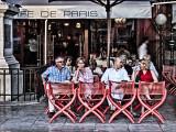 Front row-Cafe de Paris