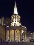 All Souls Church at Night
