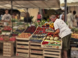 Produce market - St. Tropez