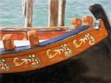 Barge detail