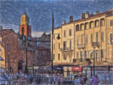 Late evening - St Tropez quayside