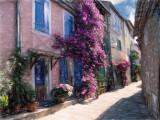 Sunlit street - Provence