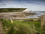 Seven sisters and beach