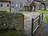 Swing Gate at East Dean Parish Church, Beachy Head