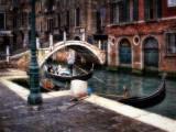Gondola through bridge