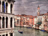 Grand Canal and barge