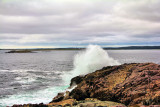 Wave Action At Louisbourg