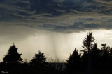 L'orage arrive - The thunderstorm is coming in !