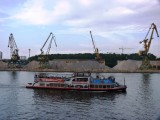 From Petersburg to Moscow by ship