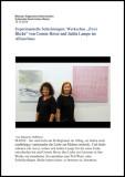 """Ausstellung """"Zwei Blicke"""" - AZ 2014"""