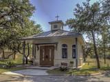 Not a church but a chapel.  Canyon City, TX