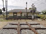 Linden train depot, view 2